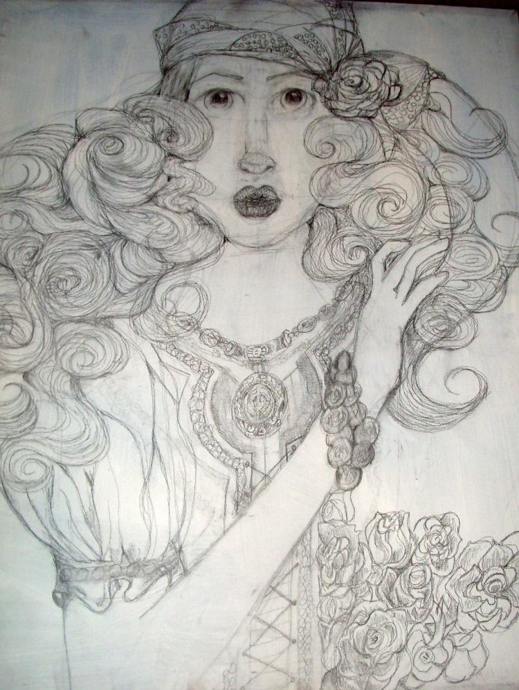 Girl gypsy