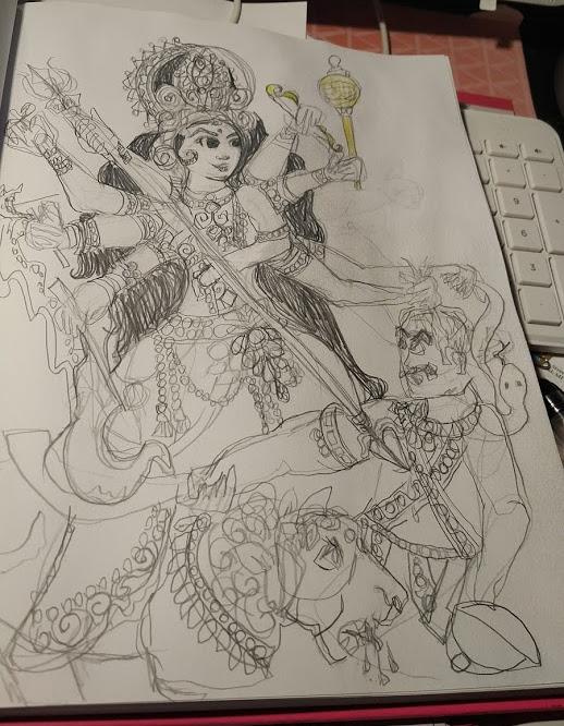 sketch for art clash1