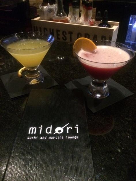 midori sushi martinis