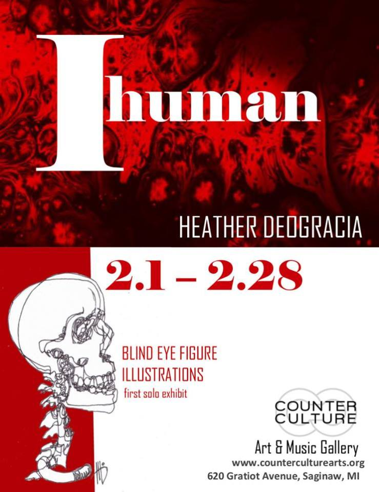 Flyer for IHuman Event