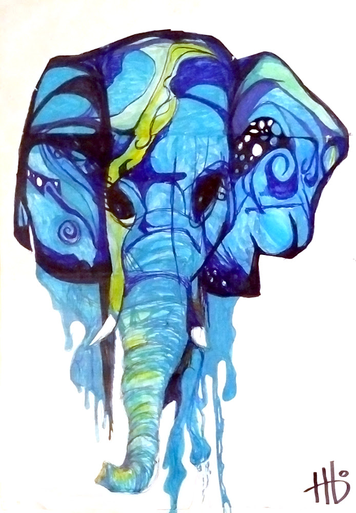 WaterfallElephant