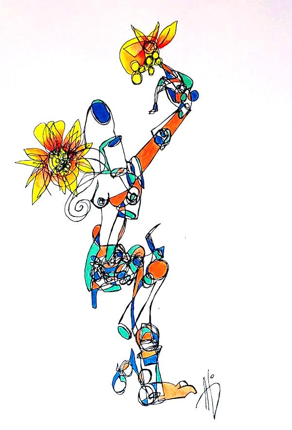 Bright Flowered